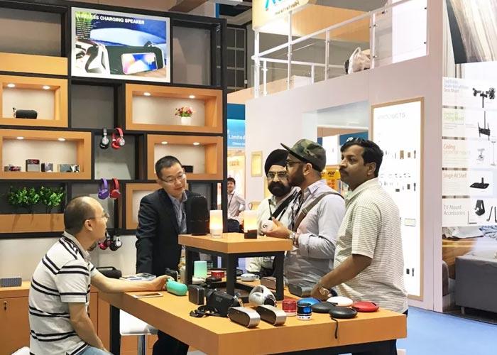 全球梦,科技生活数码家—金威澎VPX亮相香港展