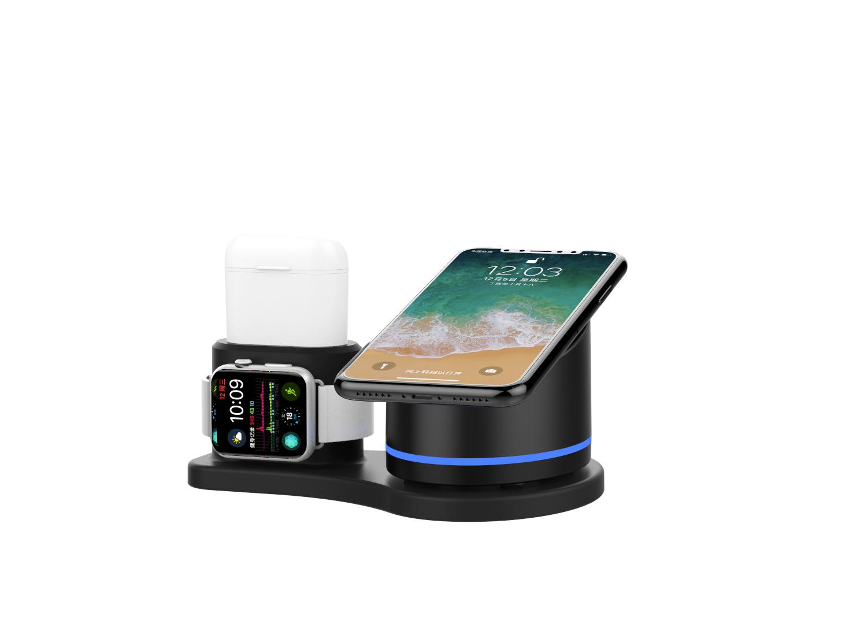 KW-019 手机、手表、耳机 多功能无线充